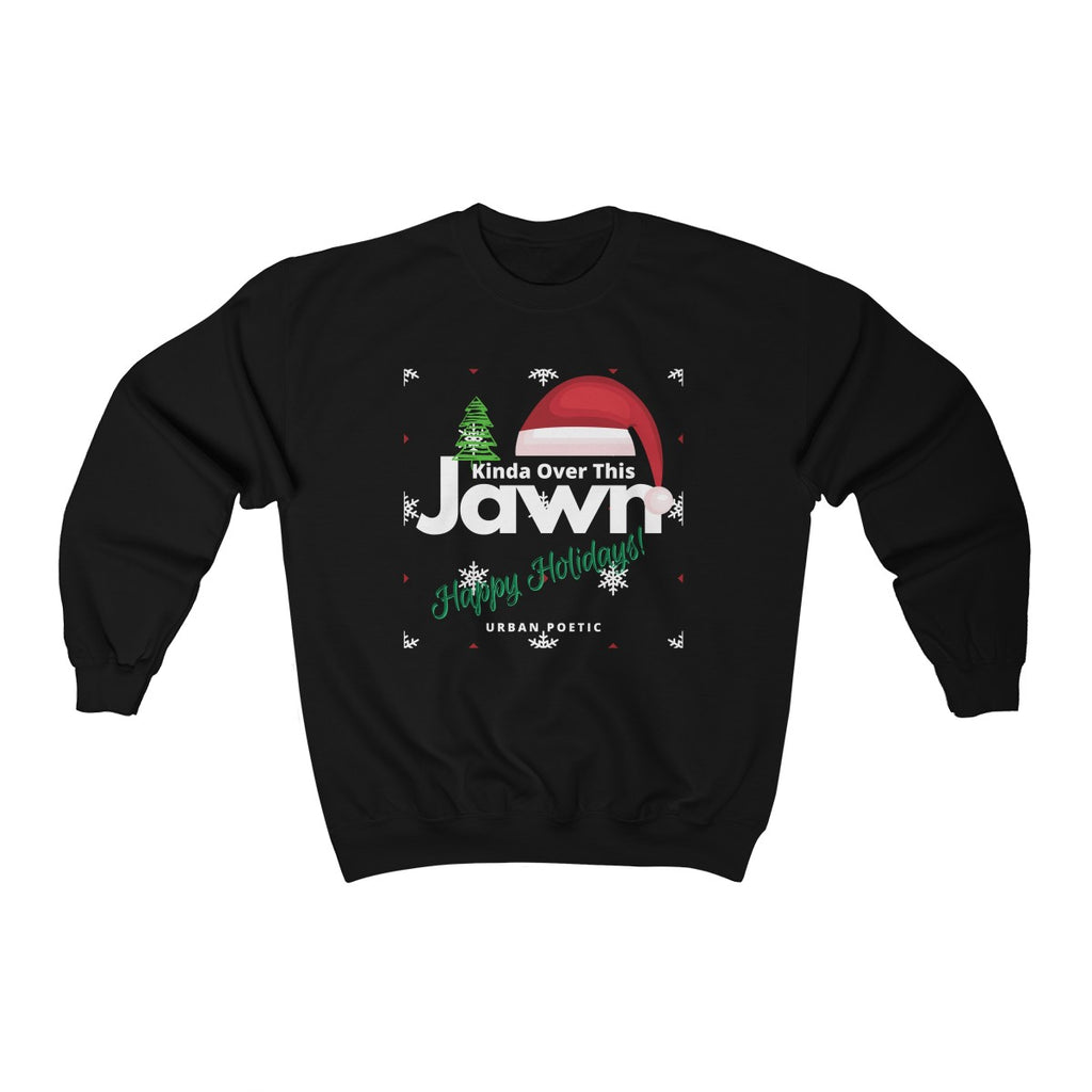 Over It- Holiday  Unisex Heavyweight Fleece Crew