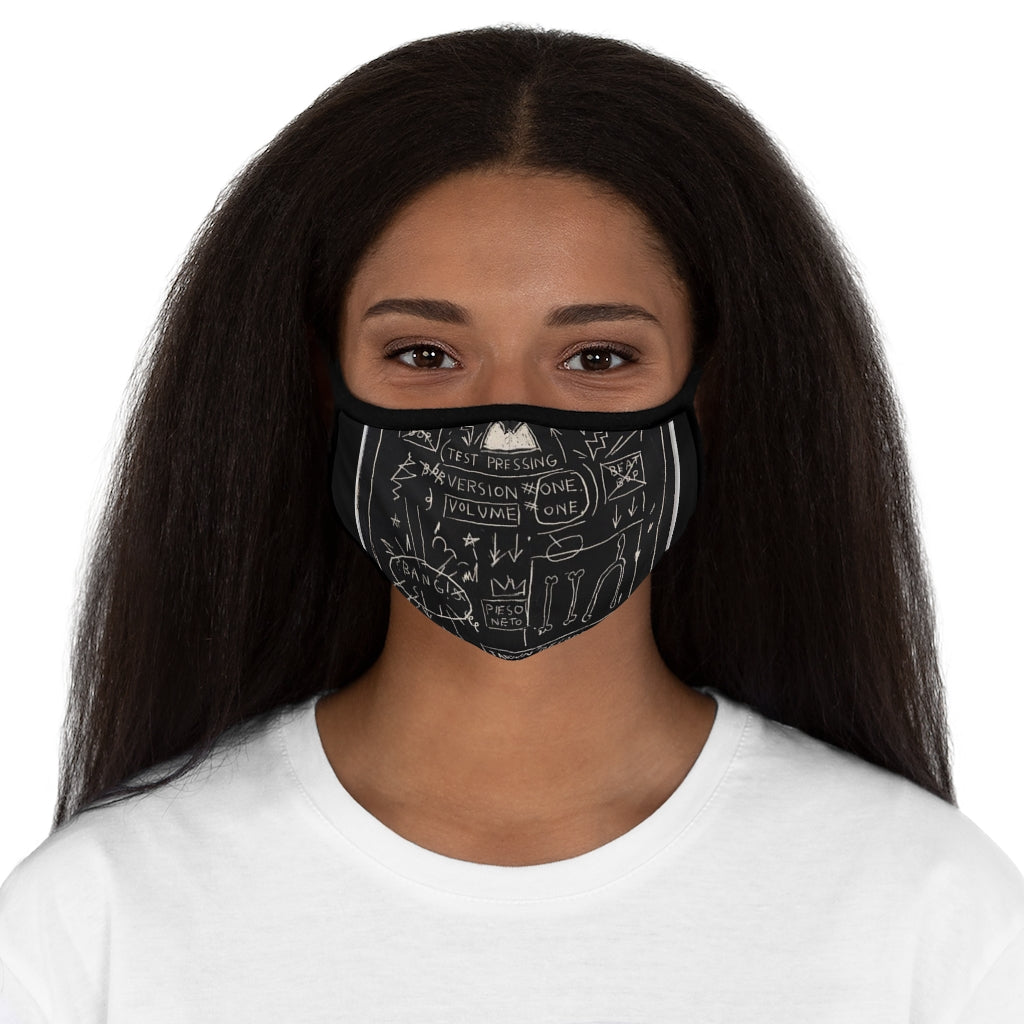 Art Vibes Fitted Polyester Face Mask