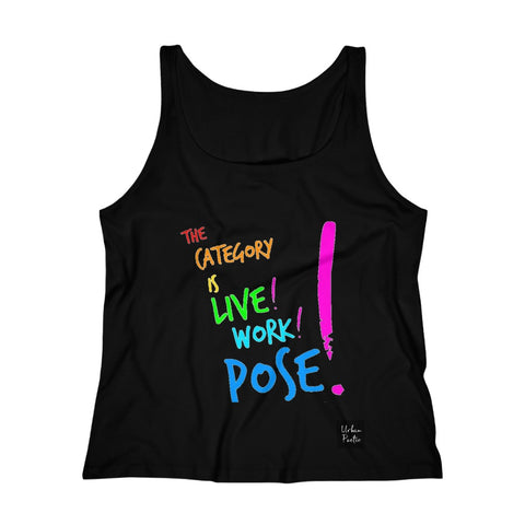 Pose Women's Relaxed Jersey Tank Top