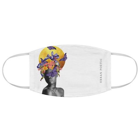 Purple Fabric Face Mask