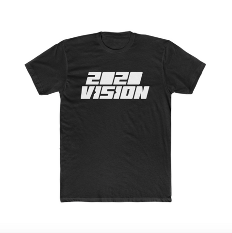 2020 VISION UNISEX T-SHIRT - LIMITED COLLECTION