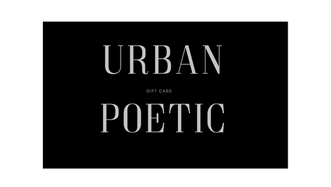 URBAN POETIC GIFT CARD