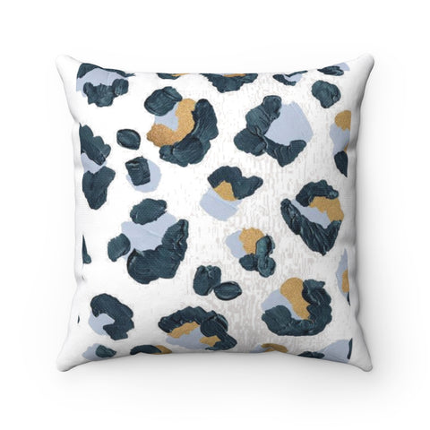 Cheetah Spun Polyester Square Pillow