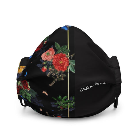 Urban Poetic Floral face mask