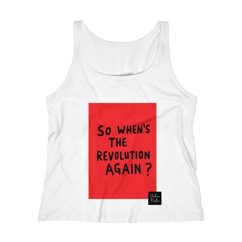 Revolution  Women's Relaxed Jersey Tank Top