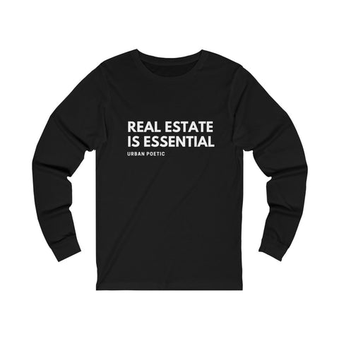 Real Estate Unisex Jersey Long Sleeve Tee