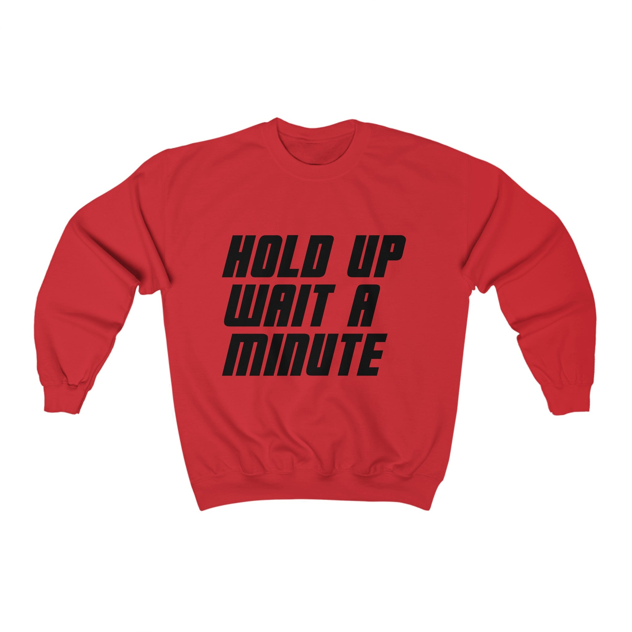 HOLD UP WAIT A MINUTE - LIMITED COLLECTION Red/Black