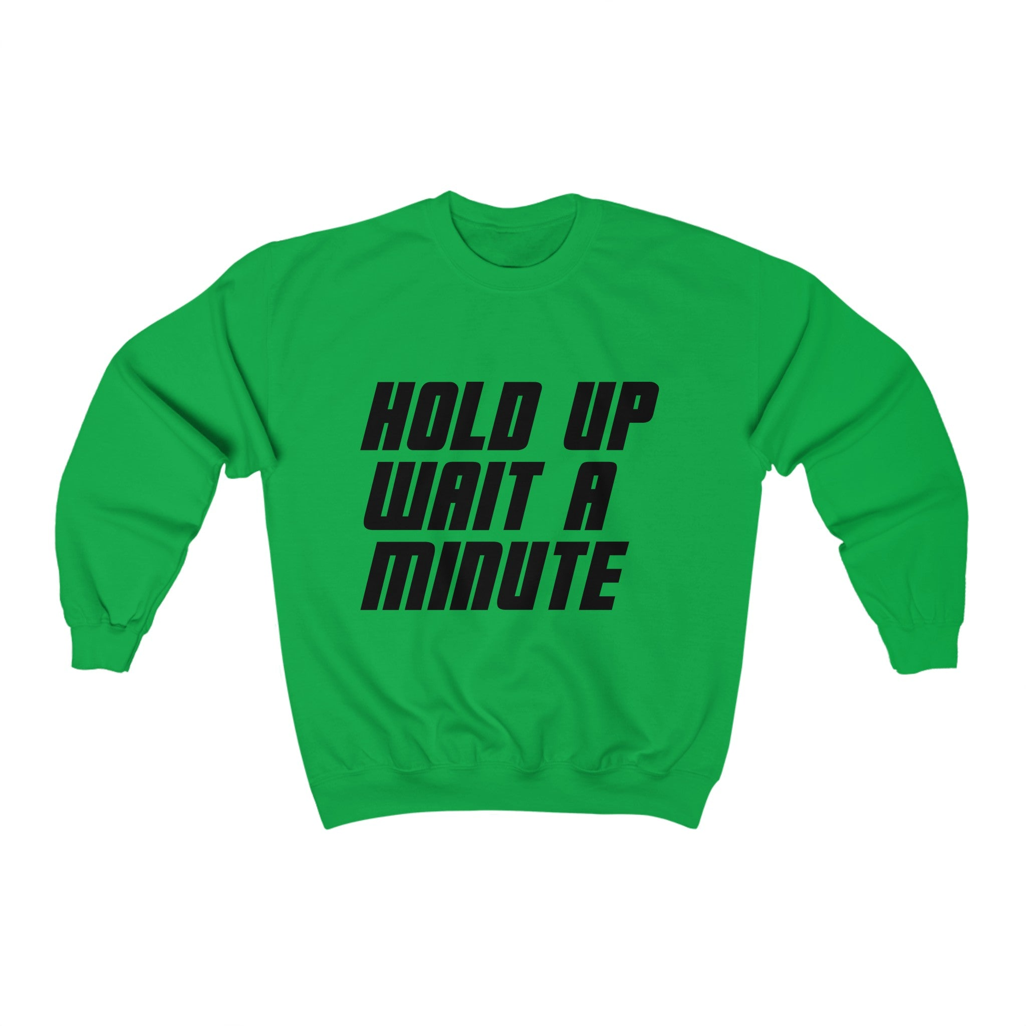 HOLD UP WAIT A MINUTE - LIMITED COLLECTION Green/Blk