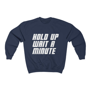 HOLD UP WAIT A MINUTE - LIMITED COLLECTION Navy/White