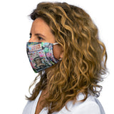 Bianca  Snug-Fit Polyester Face Mask