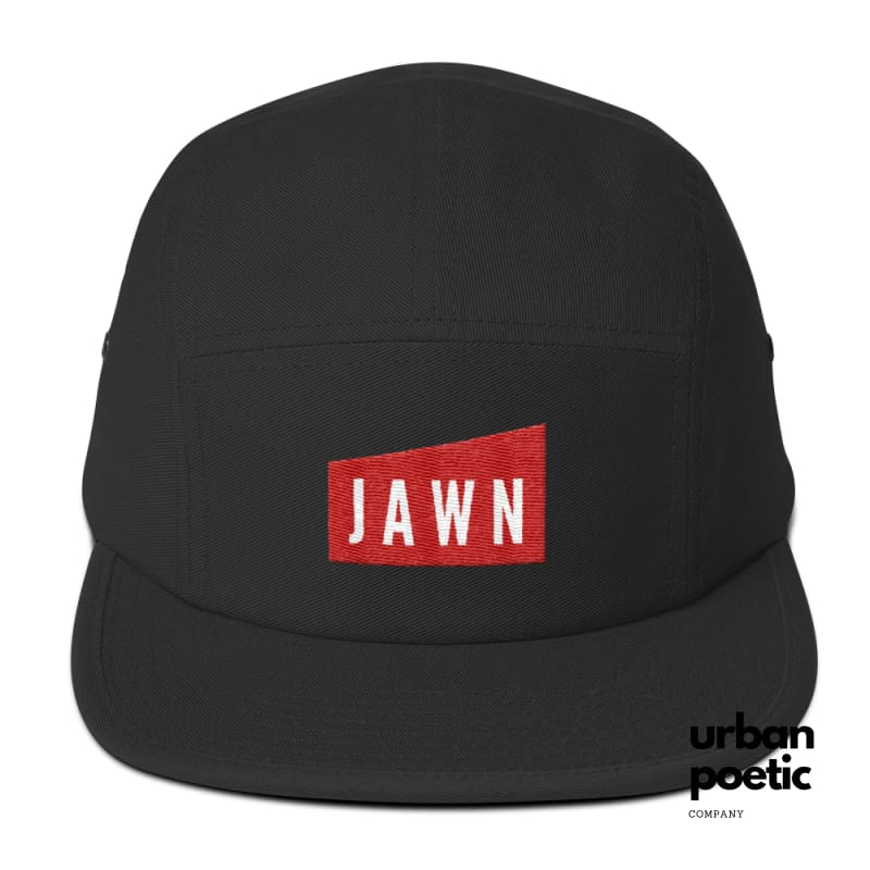 Jawn Three- Cap Black/red Hats