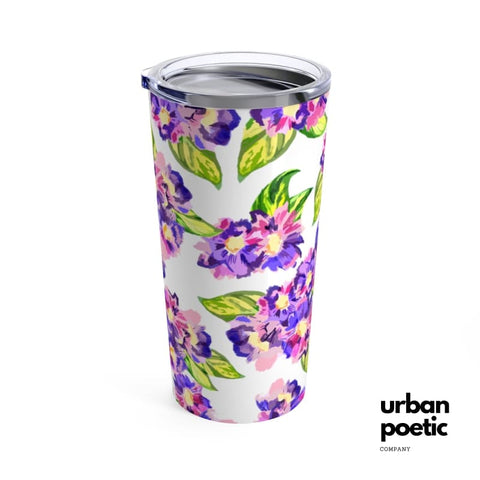 Purple & Green Tumbler 20 Oz