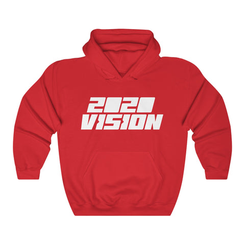 2020 VISION  UNISEX HOODIE  - LIMITED COLLECTION Red