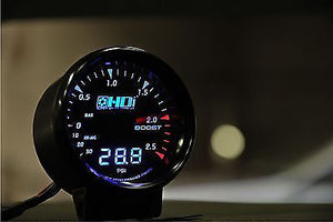 HDI Electronic Dual Boost gauge PSI + 3.5 BAR