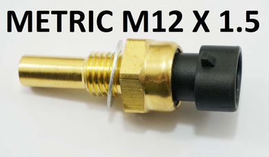 GM Closed Element Sensor with Connector Metric m12x1.5