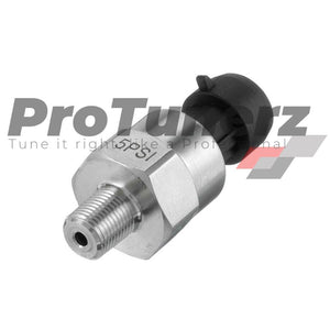 Stainless Steel 1/8 NPT Pressure MAP/PSI/BAR Sensor For Fuel Coolant Oil Air