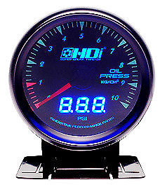 HDI Electronic Dual Oil Pressure gauge Bar + PSI