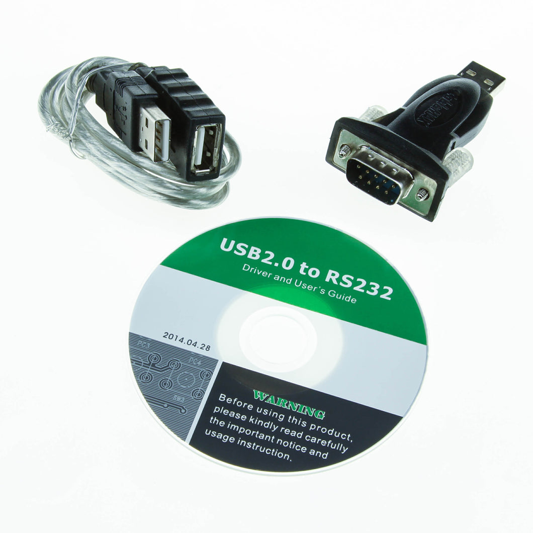 USB to Serial Adapter ( COM db9 rs232 to USB )