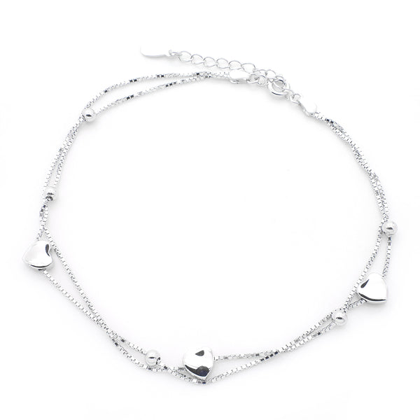 Anklet in Sterling Silver