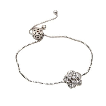 Charm Bracelet with Bolo in Sterling Silver