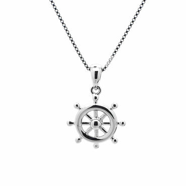 Nautical Pendant in Sterling Silver