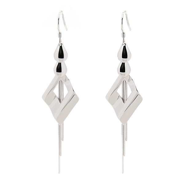 Dangle Earrings in Sterling Silver