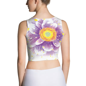 Women's Flower Power  Crop Top