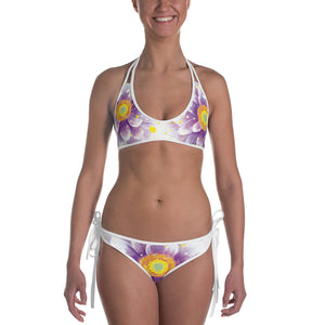 Women's Flower Power  Print Bikini