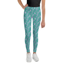 Load image into Gallery viewer, Flores Youth Leggings
