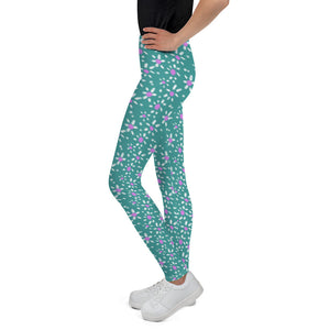 Flores Youth Leggings