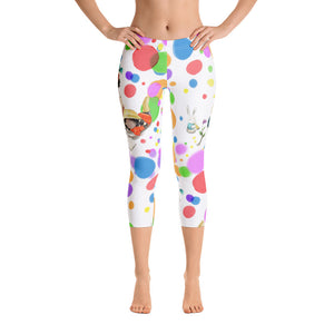 Women's Bubble Capri Leggings