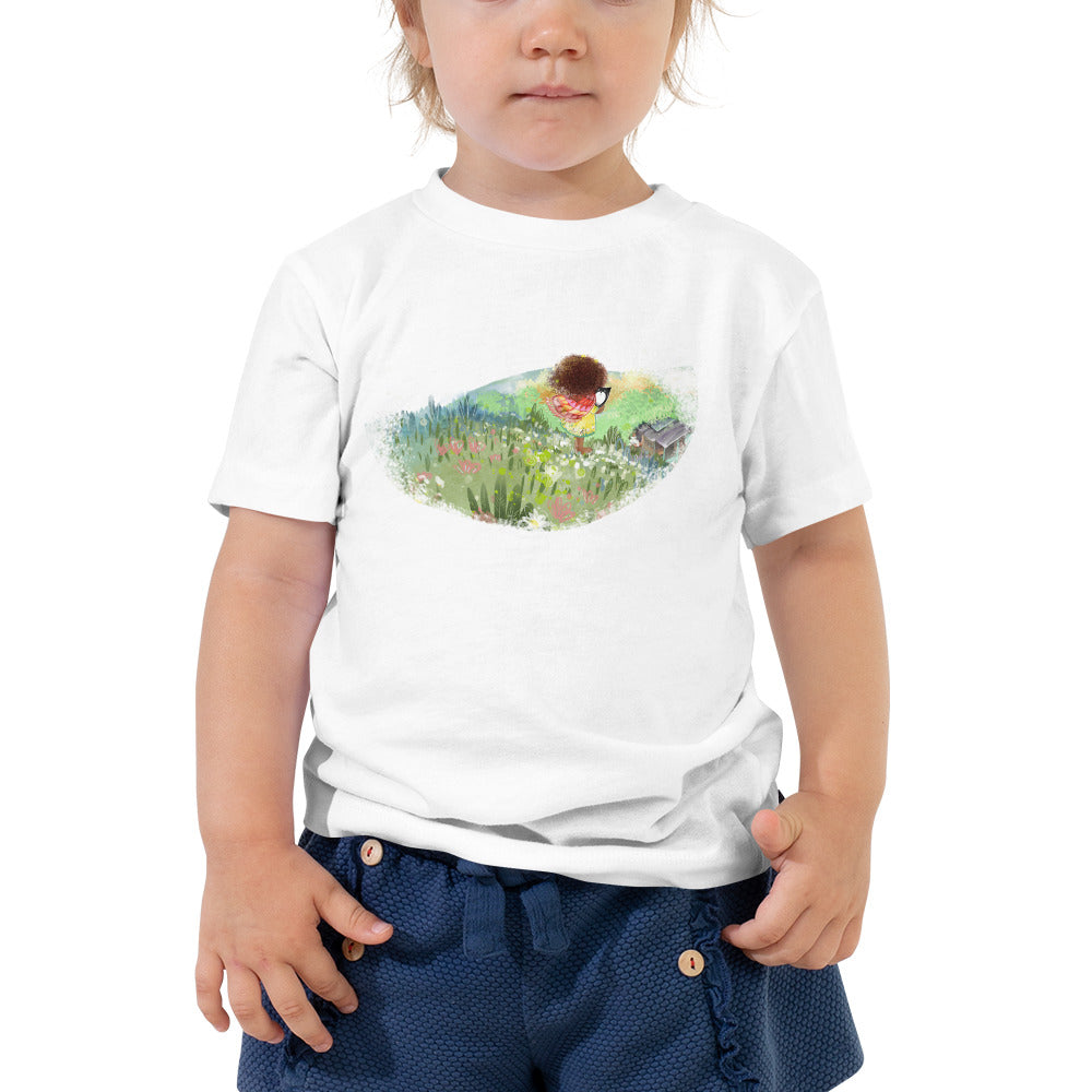Scenic Little María Toddler Short Sleeve Tee