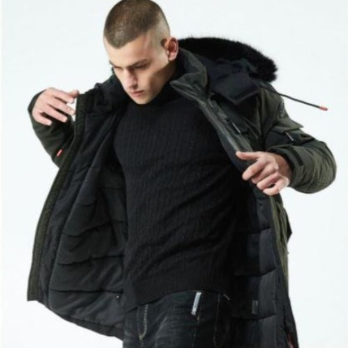 Hot stylish men winter jacket for sale - Bkinz Store