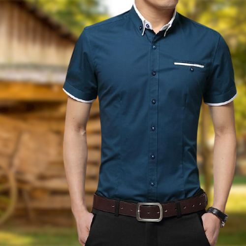 Men's Summer Business Shirt - Bkinz Store
