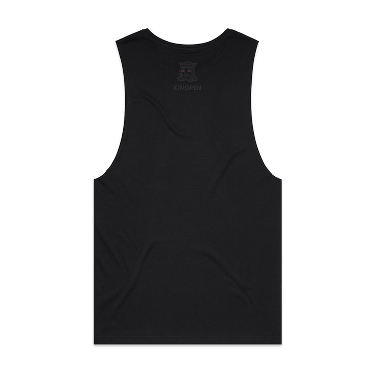 Kingpen Unisex Black Tank Top