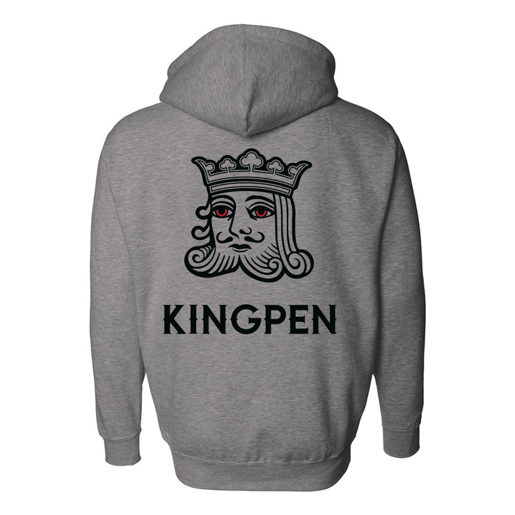 Kingpen Grey Zip Up Hoodie