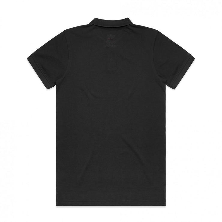 Kingpen Black Polo
