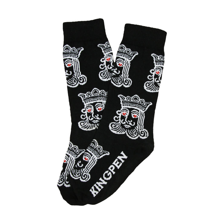 Kingpen Black Socks