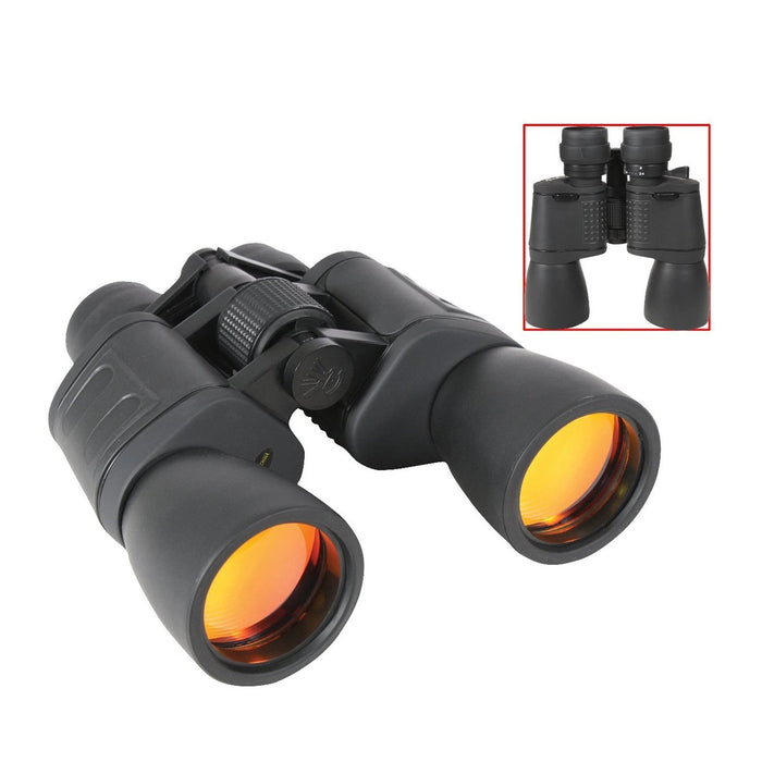 Rothco 8-24 x 50MM Zoom Binocular - Black | Luminary Global