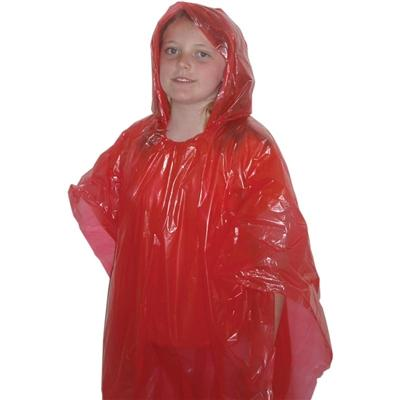 Children's Emergency Poncho - Red - Emergency Zone