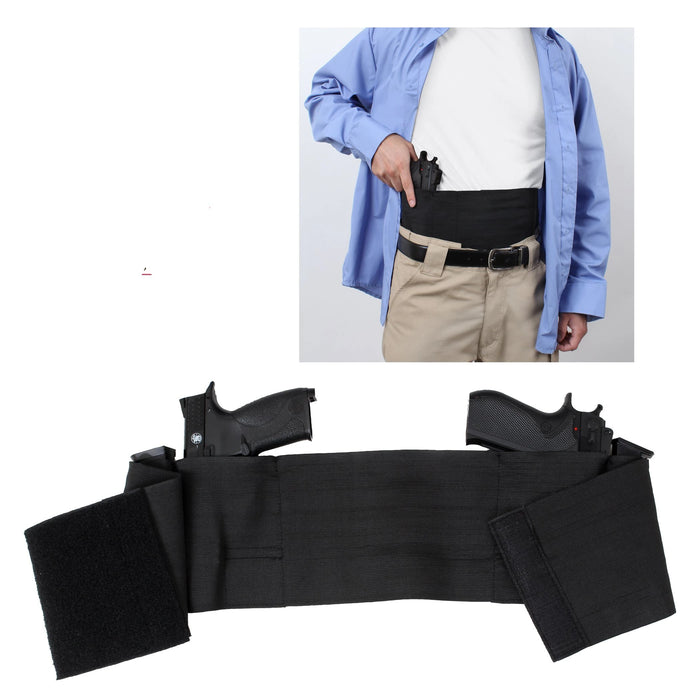 Rothco Ambidextrous Concealed Elastic Belly Band Holster | Luminary Global