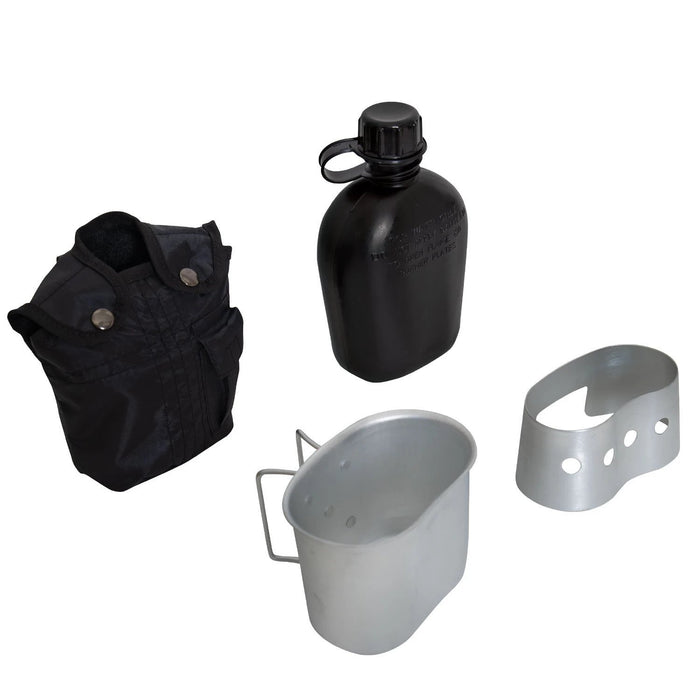 Rothco 4 Piece Canteen Kit With Cover, Aluminum Cup & Stove / Stand | Luminary Global