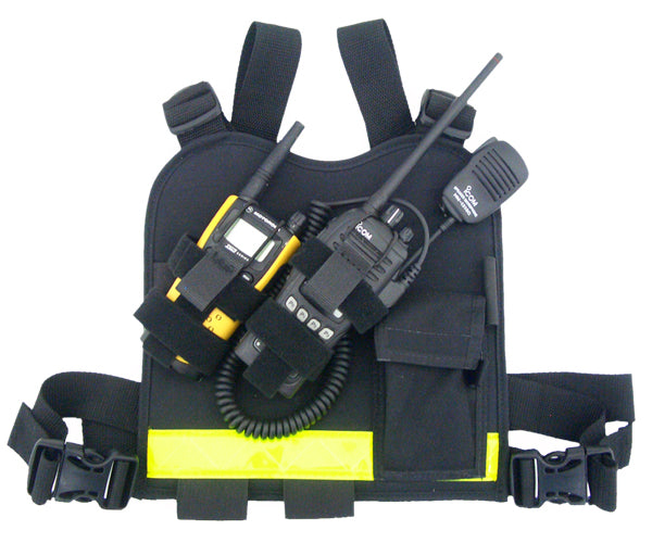 Dual - Twin Radio Chest Harness - R&B Fabrications