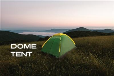 2 Person Dome Tent - Emergency Zone
