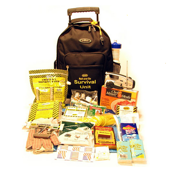 """Roll & Go"" Survival Kit (1 Person Kit) - MayDay Industries"