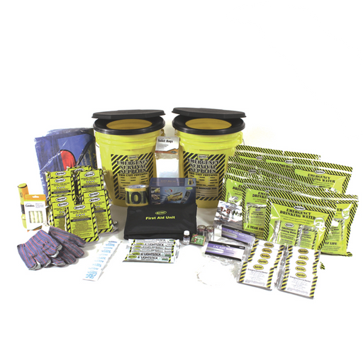 Deluxe Office Emergency Bucket Kit (10 Person) - MayDay Industries