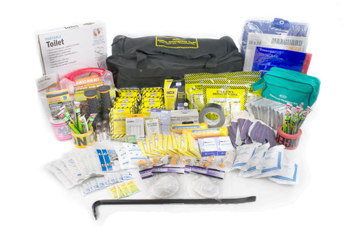 Deluxe Office Emergency Kit on Wheels (10 Person) - MayDay Industries