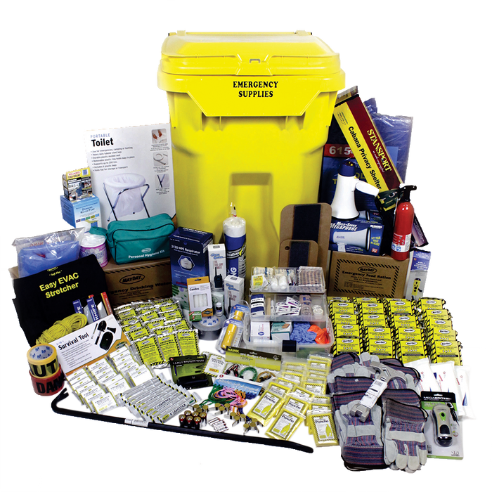 Deluxe Office Emergency Kit on Wheels (20 Person) - MayDay Industries