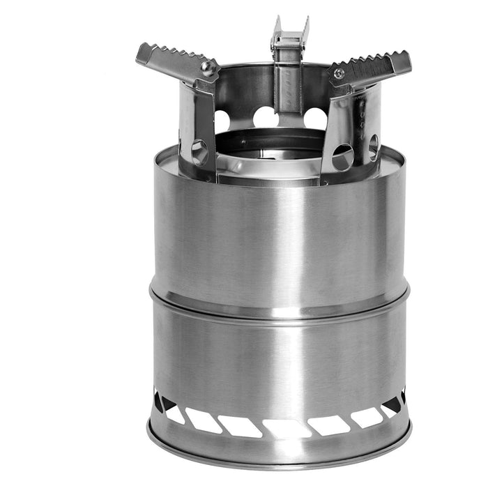 Rothco Stainless Steel Backpacking Stove - Luminary Global