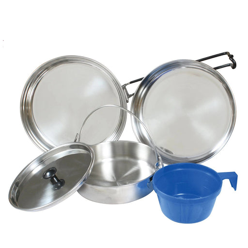 Rothco 5 Piece Stainless Steel Mess Kit | Luminary Global